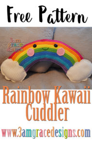 Rainbow Kawaii Cuddler