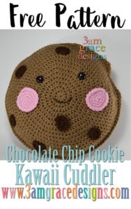 Chocolate Chip Cooke Kawaii Cuddler