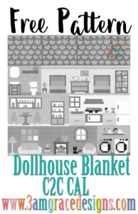 Dollhouse Blanket C2C CAL – Supply List