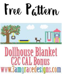 DOLLHOUSE BLANKET C2C CAL – Bonus