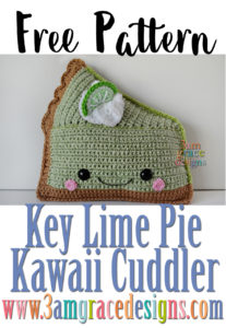 Key Lime Pie Kawaii Cuddler