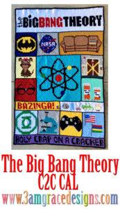 Big Bang Theory crochet pattern free
