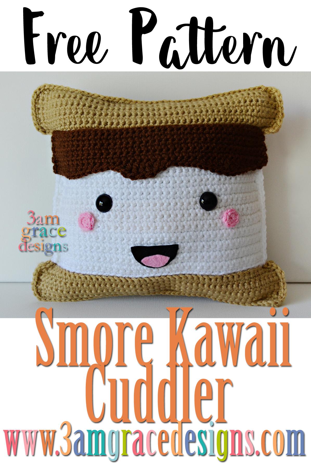Smore Kawaii Cuddler 3amgracedesigns