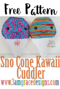 Sno Cone Kawaii Cuddler