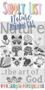 Nature Blanket C2C CAL – Supply List