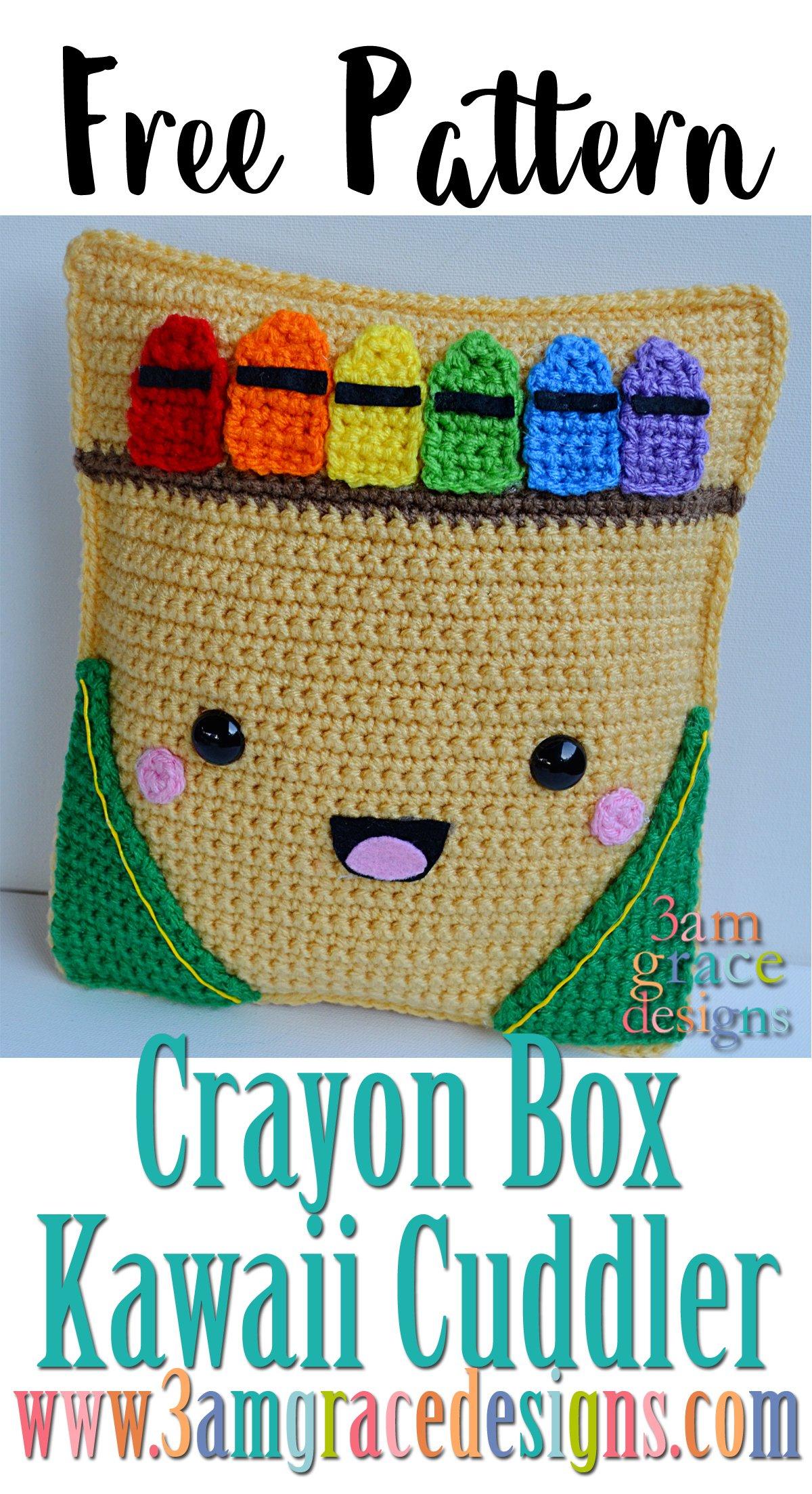 Crayon Box Kawaii Cuddler™   3amgracedesigns