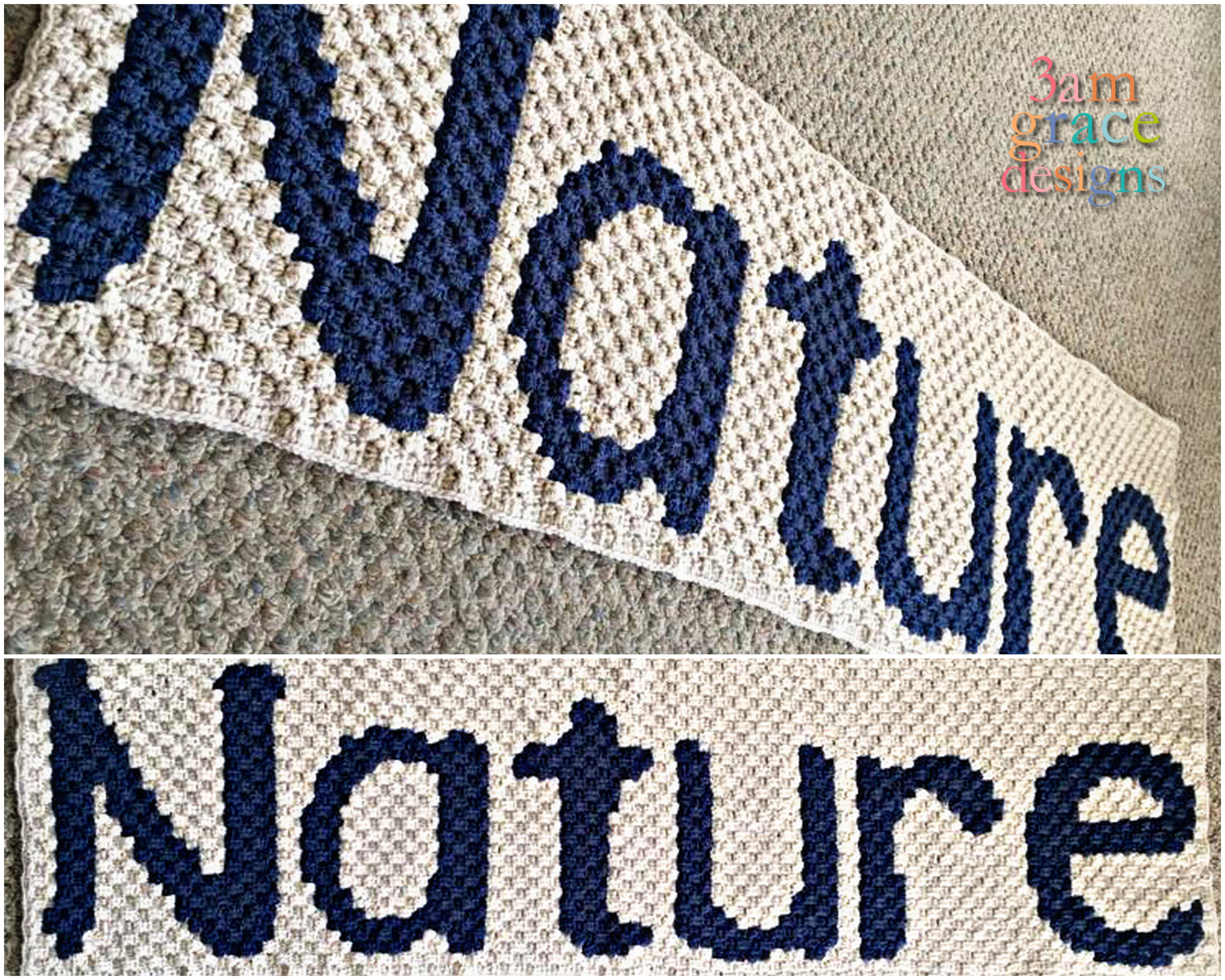 nature c2c crochet pattern