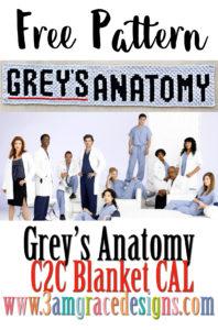 Grey's Anatomy C2C CAL – Announcement