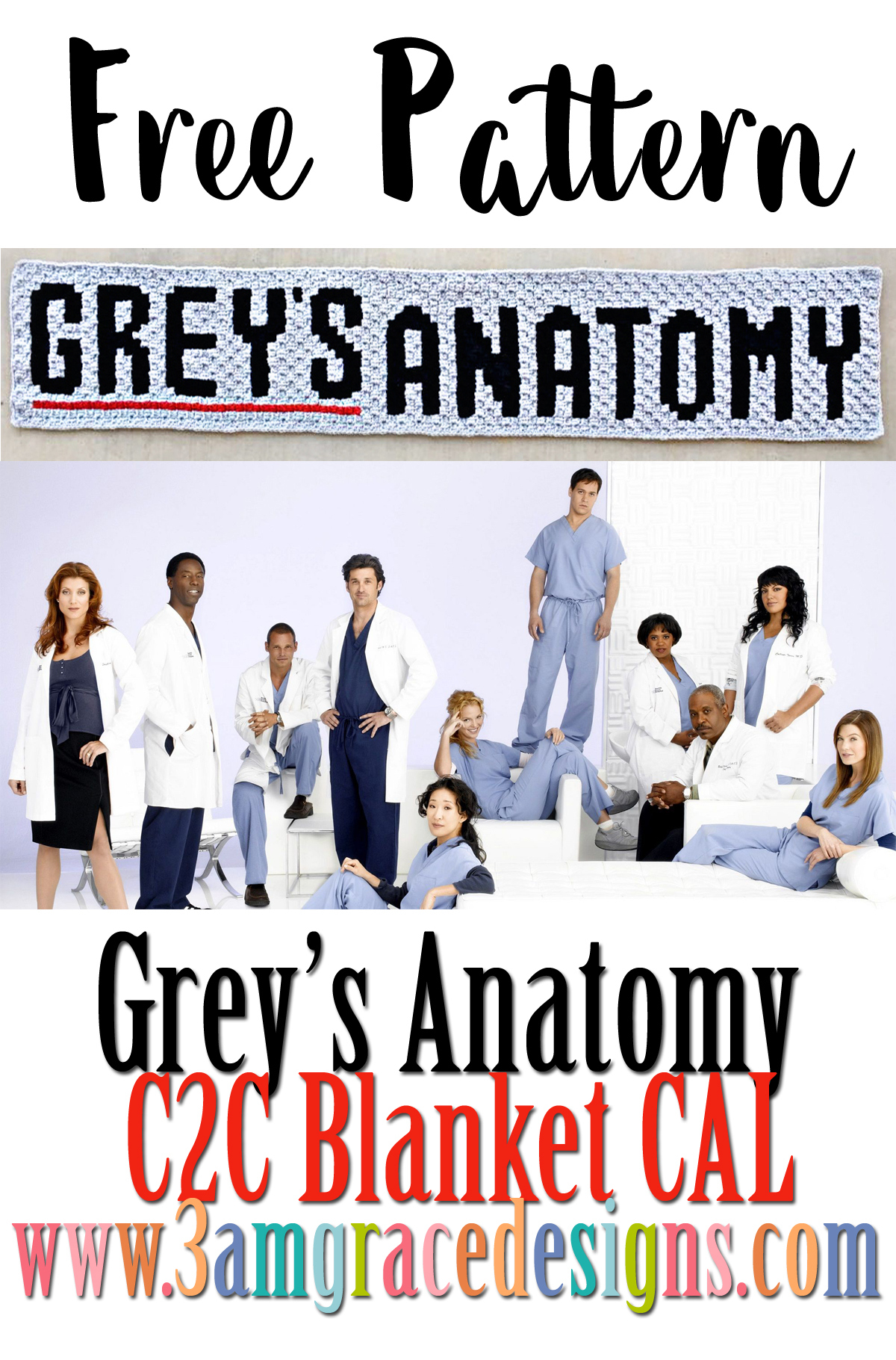 Greys Anatomy C2c Cal Announcement 3amgracedesigns