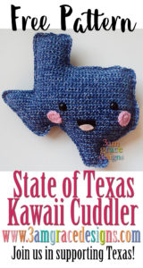 State of Texas Kawaii Cuddler