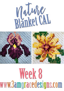 Nature Blanket C2C CAL – Week 8