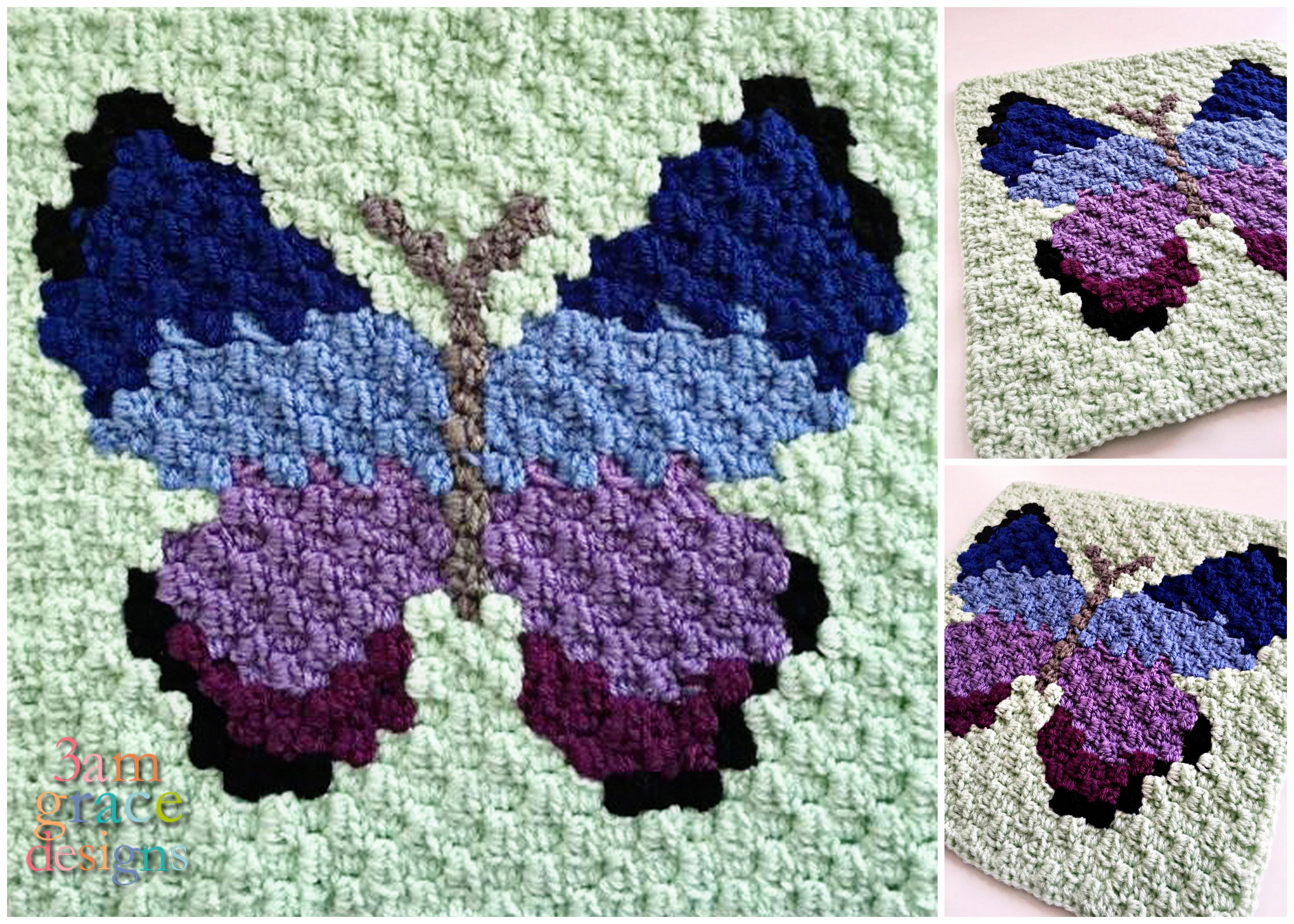 Different kinds of crochet butterfly pattern – fashionarrow.com | 3657x5120