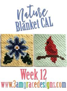 Nature Blanket C2C CAL – Week 12