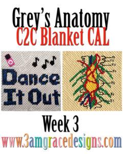 Grey's Anatomy C2C CAL – Week 3
