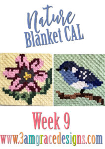 Nature Blanket C2C CAL – Week 9