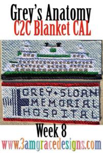Grey's Anatomy C2C CAL – Week 8