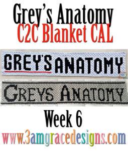 Grey's Anatomy C2C CAL – Week 6