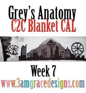 Grey's Anatomy C2C CAL – Week 7