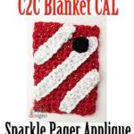 Grey's Anatomy C2C CAL – Sparkle Pager Applique