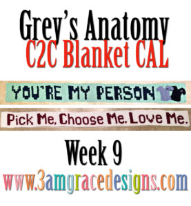Grey's Anatomy C2C CAL – Week 9
