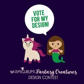 Amigurumi Design Contest – Please Vote!