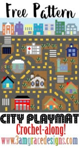 City Road Afghan Play Mat