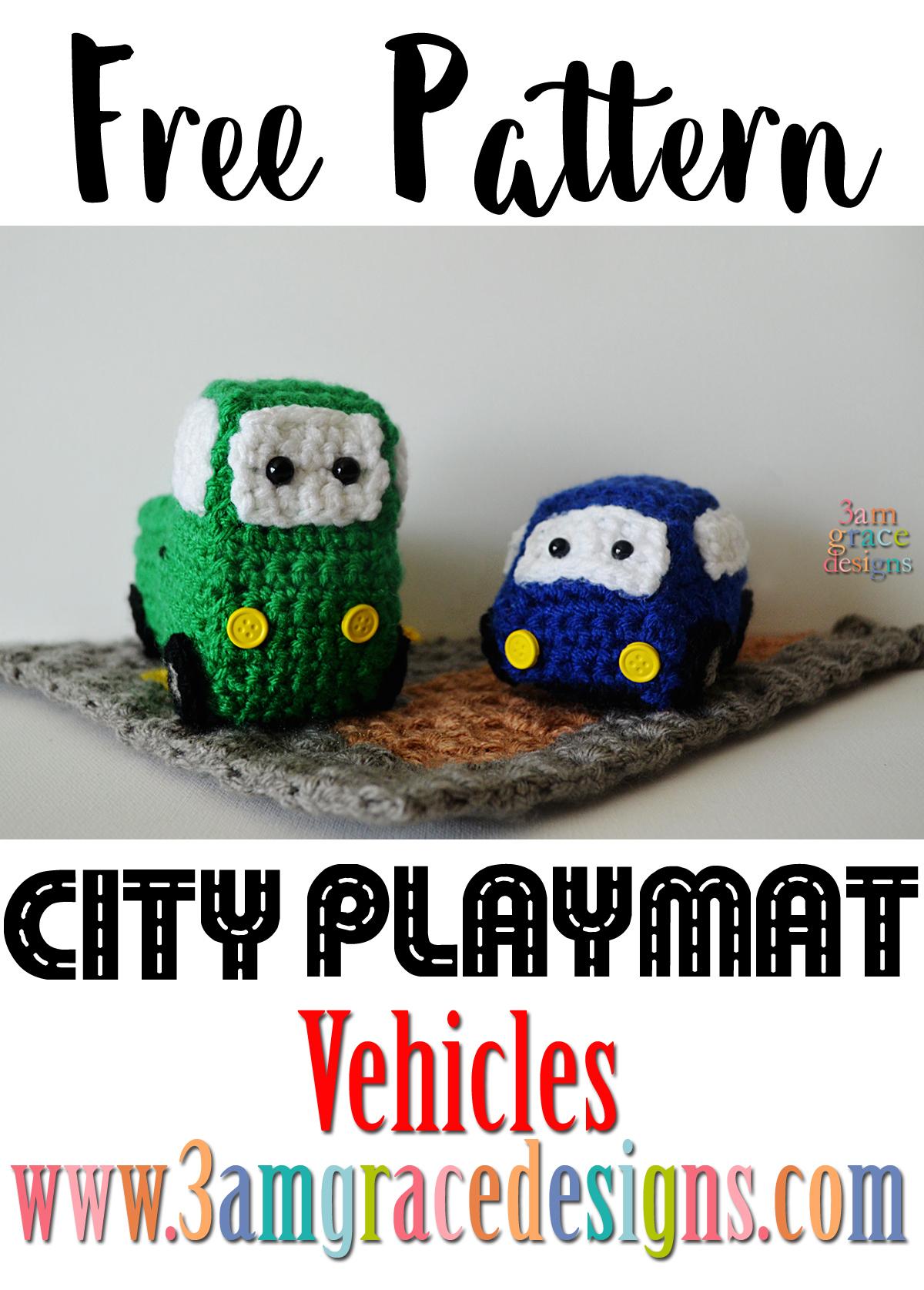 Cute and Cuddly Crochet Car Patterns! | Patrones amigurumi ... | 1675x1200