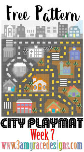 city play mat afghan