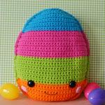 free easter egg crochet pattern amigurumi