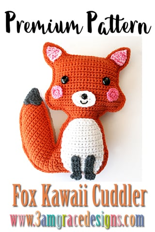 Baby Knitting Patterns Crochet Little Fox Lucas Amigurumi Free Pattern -  Crochet Am... | 480x320
