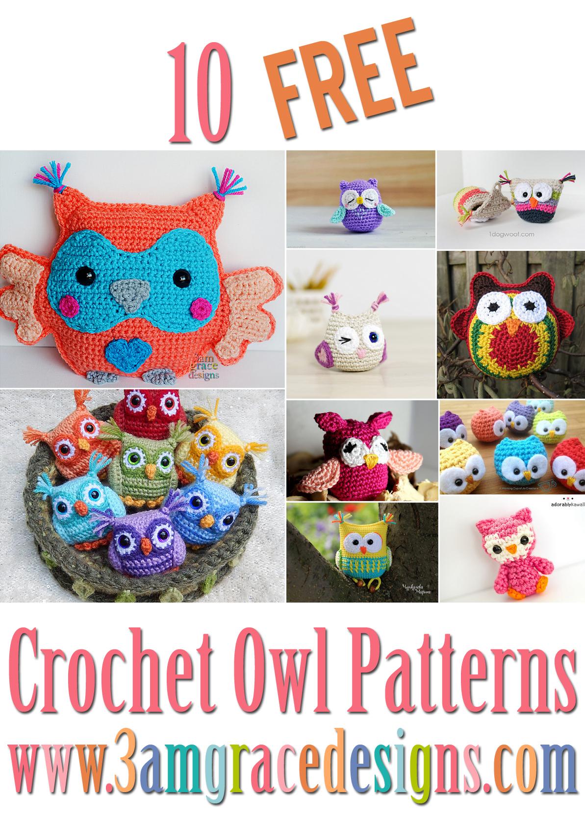 Owl Amigurumi -Free Amigurumi Pattern | Craft Passion | 1679x1193