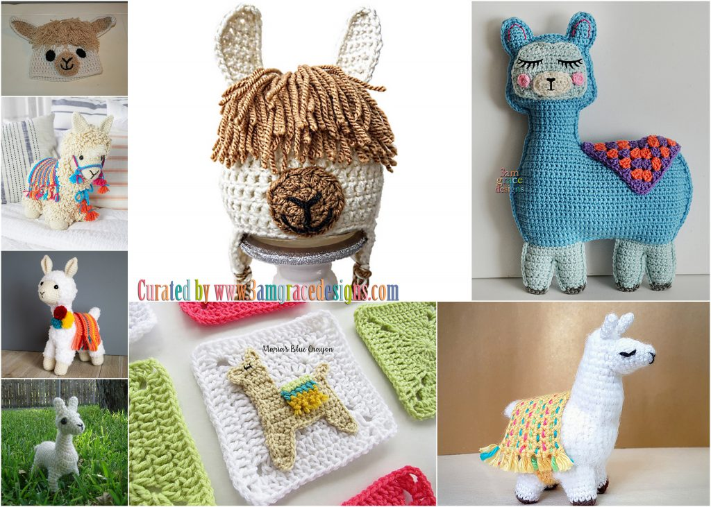 Welcome to Tuesday Crochet Roundup! We ve put together eight fun Llama  patterns for your hooks! cde240c9026