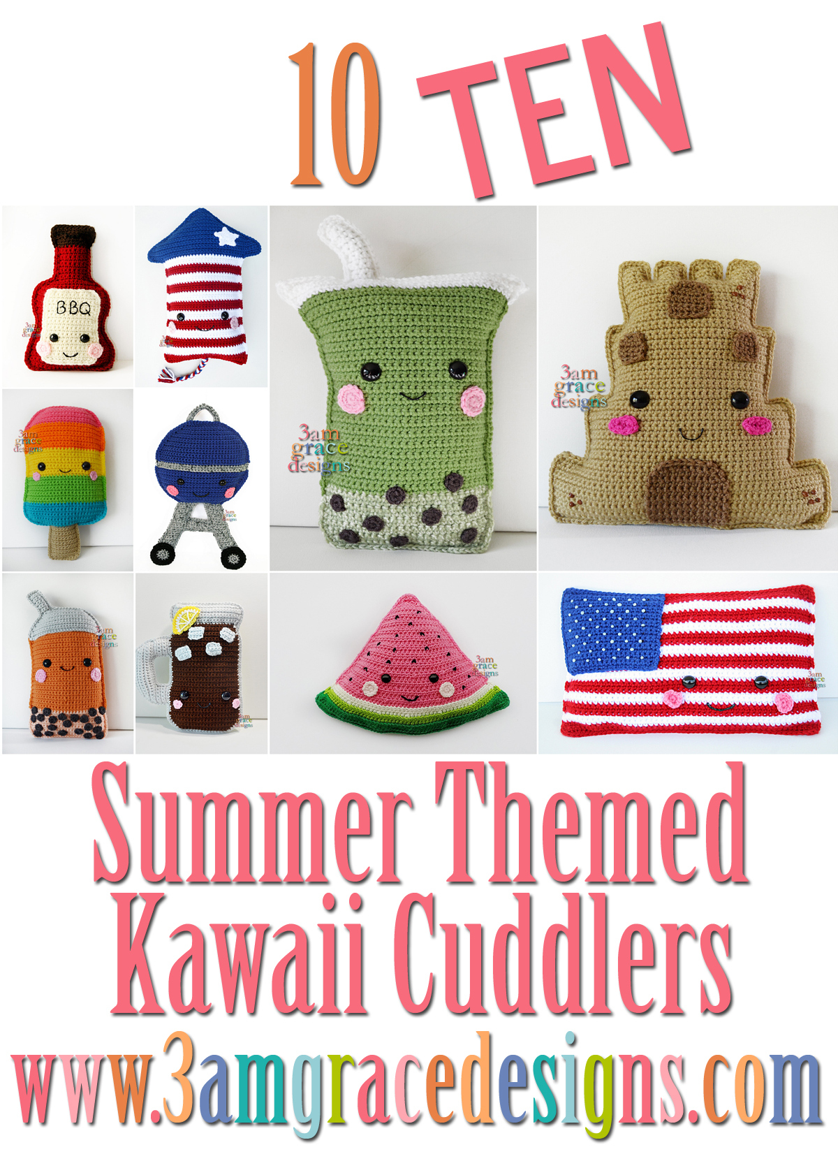 Crochet Milkshake/ Amigurumi/ Nursery Decor/ by LilCrochetLove ... | 1672x1200