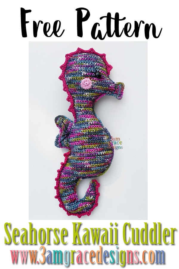 Mommy and Me Seahorse Amigurumi Free Crochet Pattern - Cool ... | 900x600