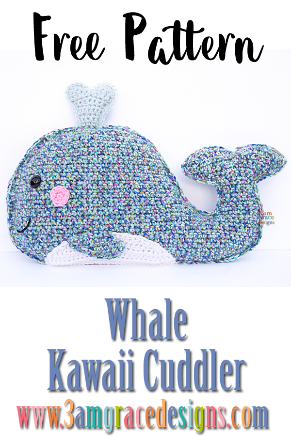 Whale Kawaii Cuddler™ Free Crochet Pattern 60amgracedesigns Enchanting Whale Pattern
