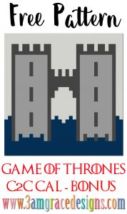 Game of Thrones C2C CAL – House Frey – Free Crochet Pattern