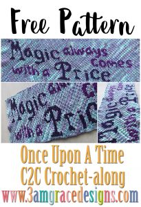 Once Upon A Time C2C CAL – Week 1 – Free Crochet Pattern