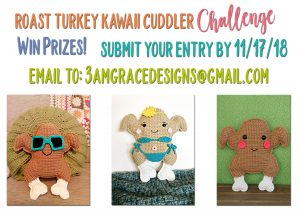 Roasted Turkey Kawaii Cuddler™ Challenge