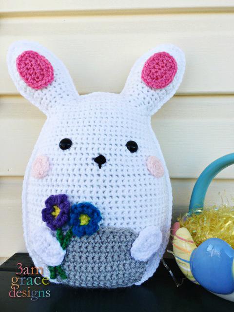 Bunny Ear Pillow Free Pattern | 640x480