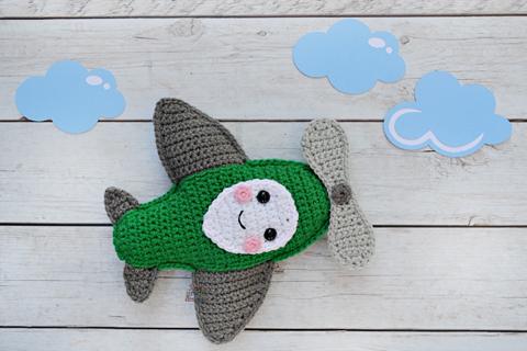 Crochet Spot » Blog Archive » Crochet Pattern: Little Airplane ...   320x480
