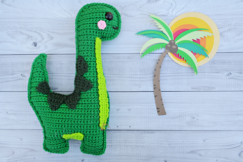 20+ Toy Dinosaur Crochet Pattern – Pattern Giveaway! - A More ... | 320x480