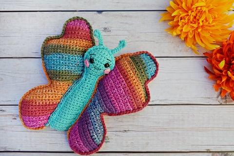 You'll Love These Crochet Butterflies | The WHOot | 320x480