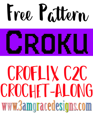 Our Croflix C2C crochet pattern & tutorial allows you to choose your favorite graphs for a custom graphgan blanket. This Croku pattern is for those that binge watch on the Roku device.