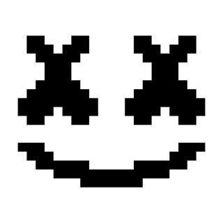Fortnite C2C Crochet-along - DJ Marshmello - Free Crochet Pattern