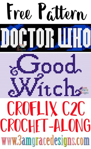 Croflix C2C CAL - Doctor Who & The Good Witch - Free Crochet