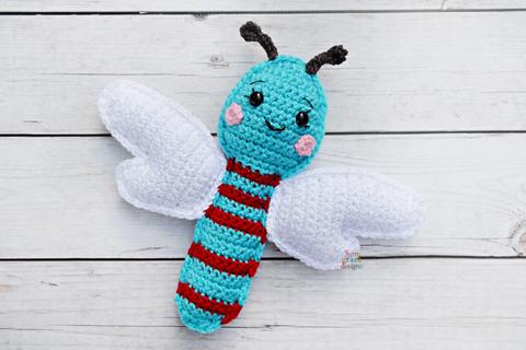 Delightful Dragonflies: 10 Free Crochet Dragonfly Patterns! | 320x480