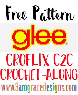 Our Glee Croflix C2C crochet pattern & tutorial allows you to choose your favorite graphs for a custom graphgan blanket.