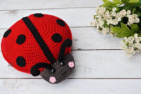 Resultado de imagen para ladybug crochet amigurumi | Patrones muñecas  amigurumis, Crochet amigurumi, Patrones amigurumi | 320x480