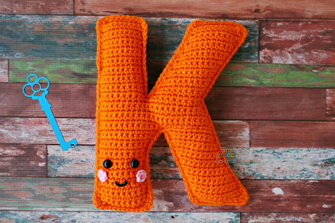 11 Free Crochet Letters Pattern ⋆ DIY Crafts | 320x480