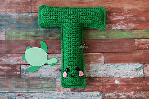 Letter P Crochet Pattern Letter P Amigurumi Pattern Alphabet | Etsy | 320x480
